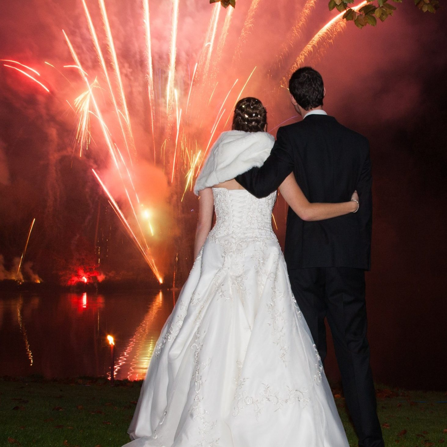Wedding Fireworks Display Special Effects (SPX) Stage Pyro by Angelfire